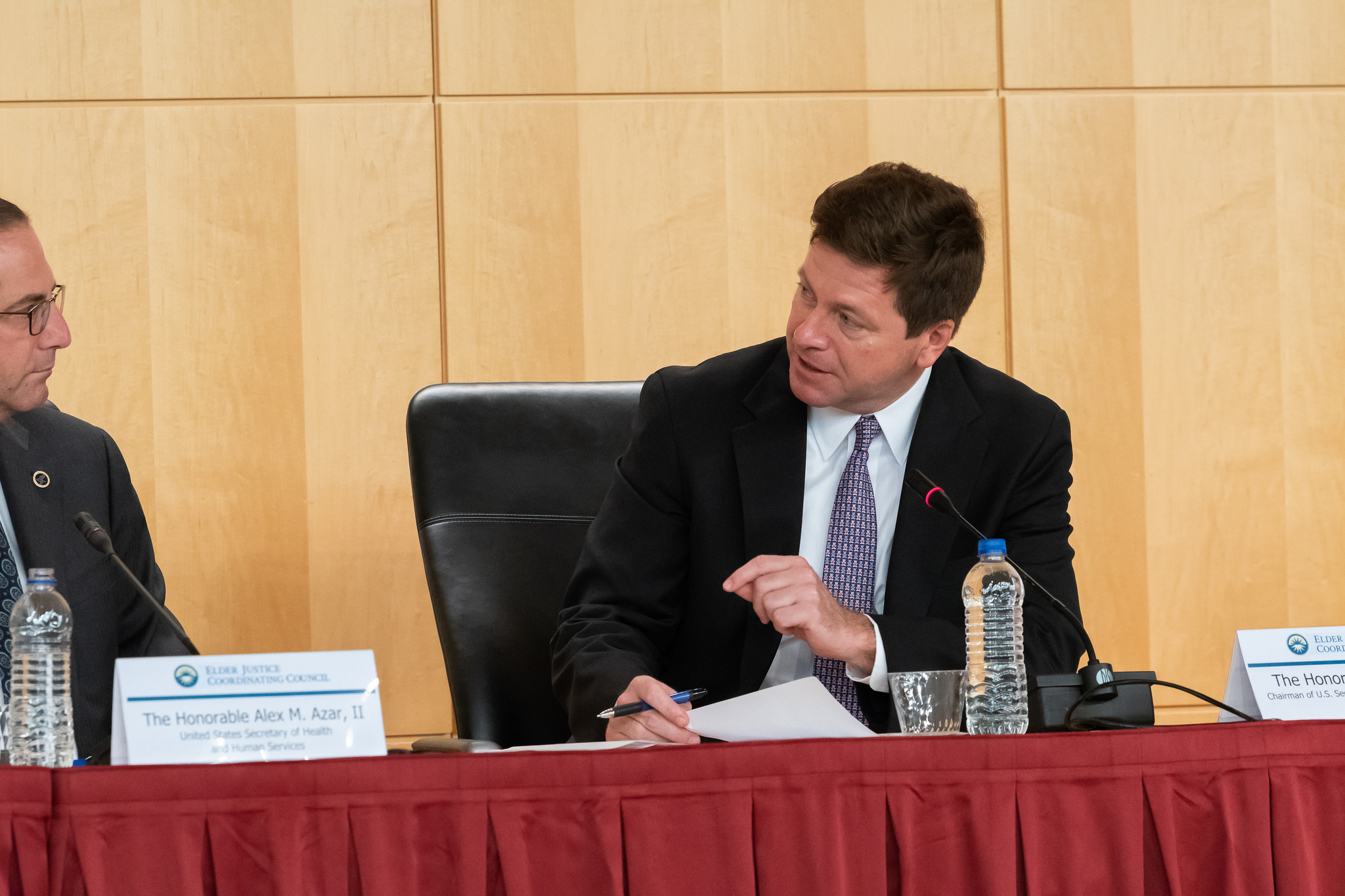 Jay Clayton at the Elder Justice Council meeting