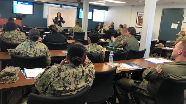 command financial specialists at the Naval Base San Diego