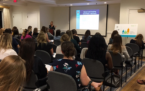 Staff from the SEC's Office of Investor Education and Advocacy gave a presentation on the basics of investing to the Junior League of Washington