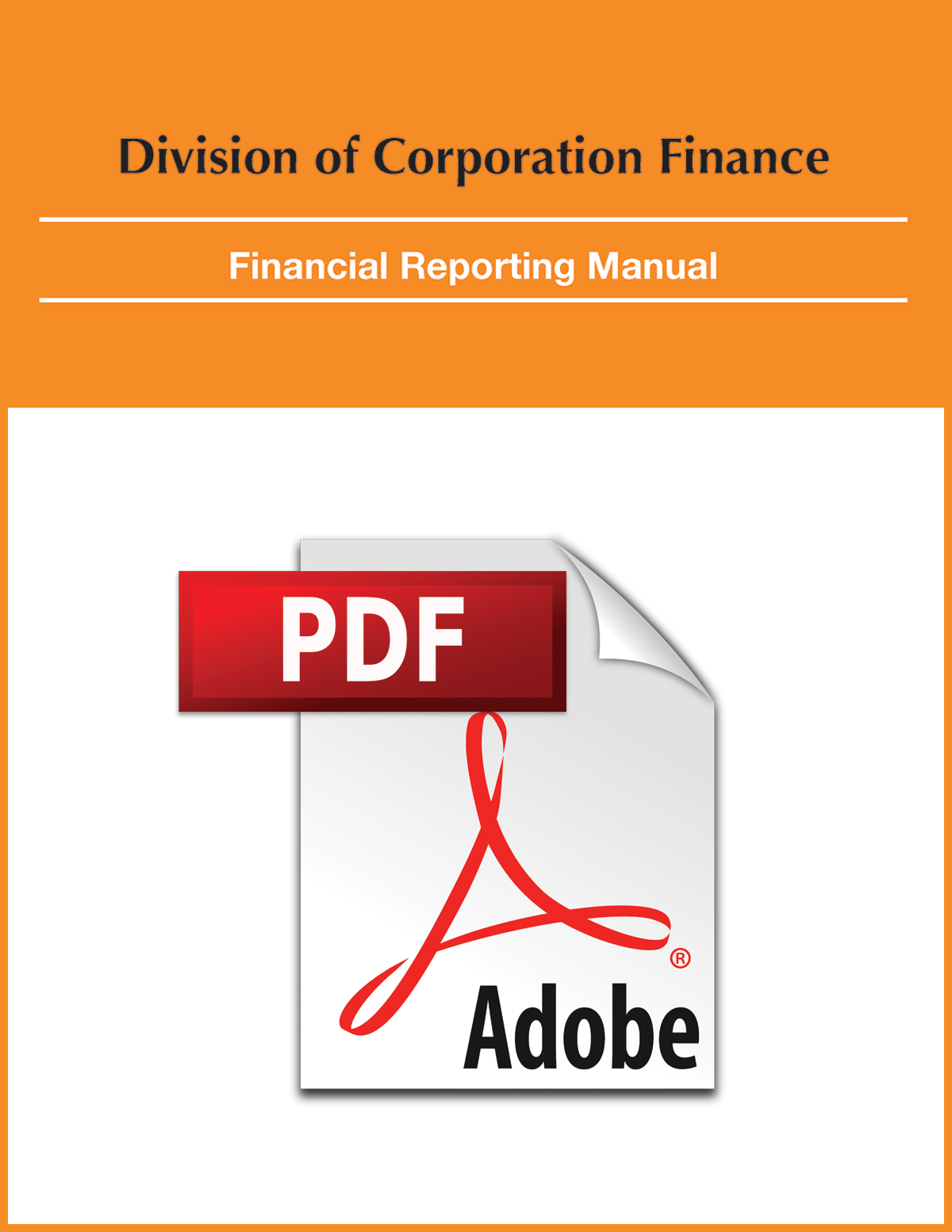Financial Reporting Manual (PDF)