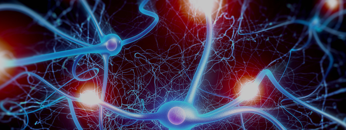 Abstract image suggesting neurons in an electronic brain