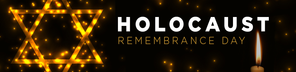 Holocaust Remembrance Day Header