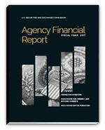 2017 Agency Financial Report cover