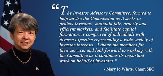 Mary Jo White, SEC Chairman