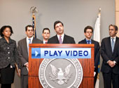 Play video of SEC Enforcement Director Robert Khuzami introduces new unit chiefs