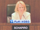 "Play video of SEC Chairman Schapiro discussing new prohibitions on ""pay to play"" practices"