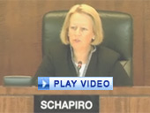 Play video of SEC Chairman Schapiro discussing proposed rule to prohibit fraud