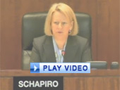 Play video of SEC Chairman Schapiro discussing swaps reporting