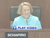 Play video of SEC Chairman Schapiro discussing the use of derivatives
