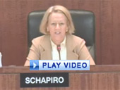 Play video of SEC Chairman Schapiro discussing the proposed rule