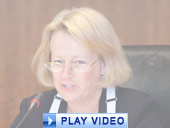 Play video of SEC Chairman Schapiro discussing credit rating agency reforms