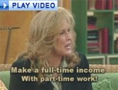 Teach-Me-To-Trade Infomercial Video: Linda Woolf Making Her Pitch