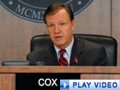 Chairman Cox discusses efforts to help municipal bond investors