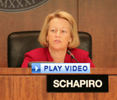 SEC Chairman Mary L. Schapiro speaking